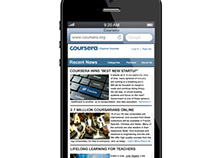 Coursera Mobile Redo