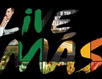 Visually Branding Taco Bell's, Live Más, tagline