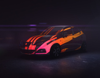 SEAT IBIZA -  Projection mapping