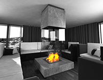 Design modern fireplaces