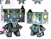Tribe Chief paper craft Eloy Vektor X Andry2fast