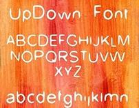 UpDown Free Font