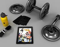 Fitness Club Mockup
