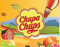 Chupa Chups Animation Commercials ( 30 June 2012 )