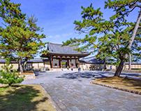 Primum Japan in World Heritage Site Horyuji templi