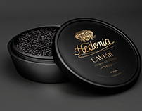 3d rendering and modelling Caviar packaging