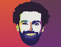 Face illustration (WPAP Style)