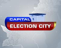 Capital Election City Logo Design