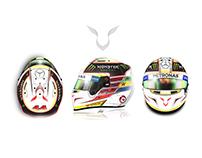 Lewis Hamilton Helmet Challenge | Design Proposal