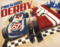 Pinewood Derby Poster