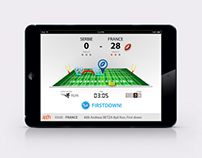 Gleam Football Statistics App.