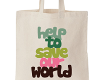 Canvas Tote bag design for Nigerian Eco-campaign