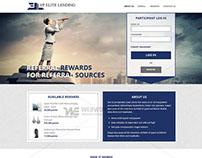 Elite Lending - Web Portal Development