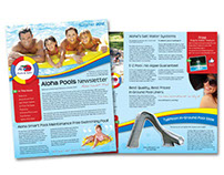Aloha Pools Newsletter