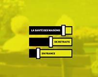 La santé des maisons de retraite en France / 2016