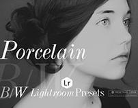 Porcelain B&W Lightroom Presets