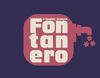 Fontanero -Display Grotesk-