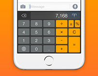 Keykulator: iOS 8 Keyboard