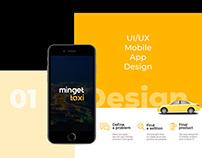 """Minget"" Ui/Ux Mobile App Design"