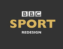 BBC Sport Homepage Redesign