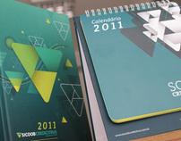 SIcoob Credicitrus - Diary and Calendar 2011