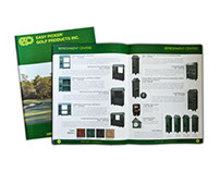 Catalog for Golf Products