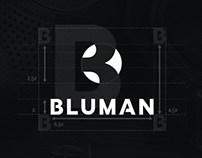 Bluman [ Brand Identity ]