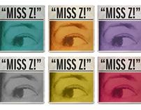 Self-Branding. Miss Z! web presence.