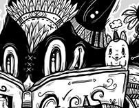 LaCabeza Fanzine No.10: Editorial Illustration