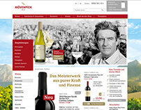 Mövenpick Wein | Ecommerce