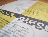 Chank Diesel | Typographic brochure