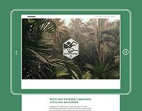 Jungle Keepers website & messaging