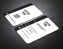 Corporate Business Card Design with free mockup