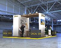 Exhibition Stand // Staublı