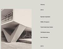 Meganom Architecture Bureau // Web