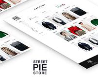 Online Shopping - Street Pie Store / website / UI/UX