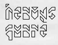 heavySQUARE - Tipografia geométrica