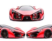 Sneaker Concept - Ferrari F80 - Rooy