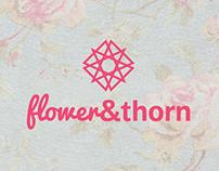 Flower & Thorn LA - Logo Proposal