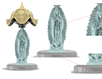 Virgen Lamp