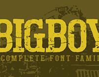 Bigboy typeface