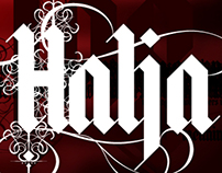 Halja typeface