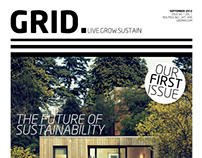 GRID. Magazine (A 3rd Year Student Project)