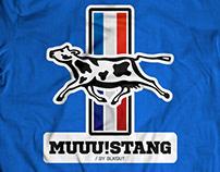 Muuustang - funny design