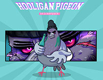 Hooligan Pigeon Sticker Pack for Social Network