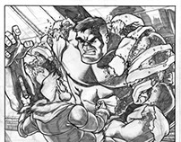 Sample Comic Pages - Hulk