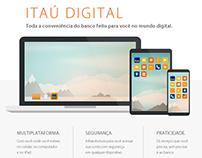 Itaú :: Landing page Itaú Digital