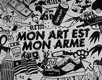 MON ART EST MON ARME