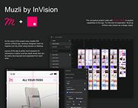 Muzli by InVision iOS app concept