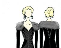 Fashion Sketches/designs